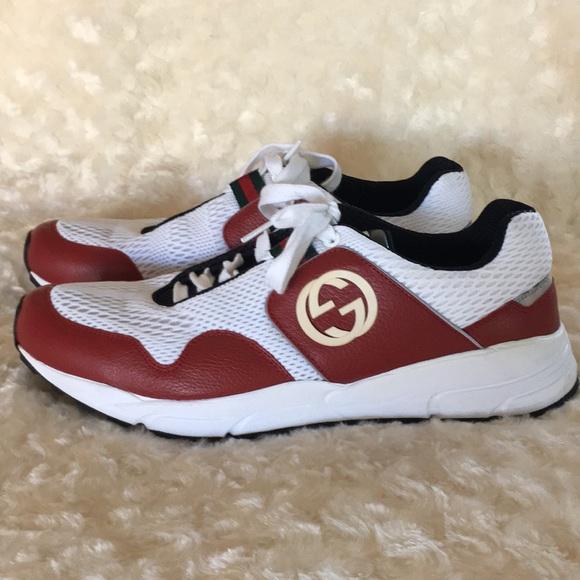0e2abe26a2592 Men's Gucci athletic style shoes